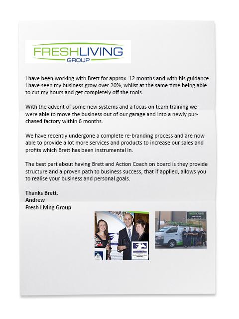 Fresh Living Group Testimonial