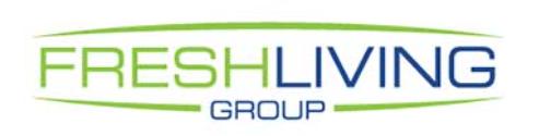 Fresh Living Group Logo